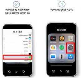 כיצד להגדיר הודעה מותאמת אישית באייפון שלב א